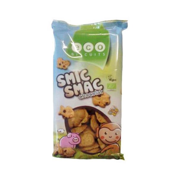 Био Веган детски бисквити с шоколад Eco Biscuit, 150гр. - Eco Biscuits
