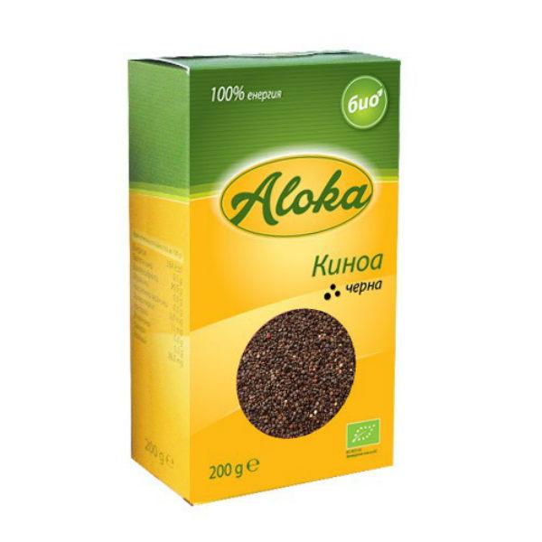Киноа черна Био Aloka, 200 гр. - Aloka