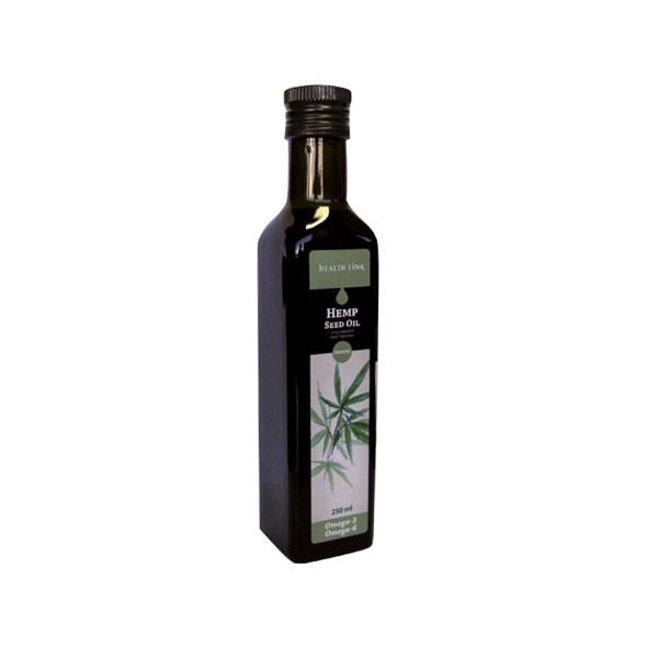 Олио от конопено семе Био, Health Link,  250 мл - Health Link