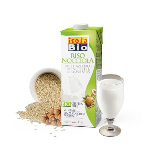 Oризово-лешникова напитка Био Isola Bio, 1 л. - Isola Bio