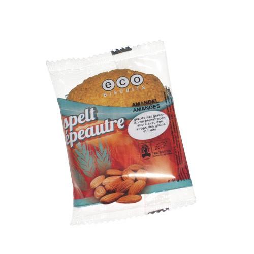 Бисквита шпелтова с бадеми  Био Eco Biscuit , 40 гр. - Eco Biscuits