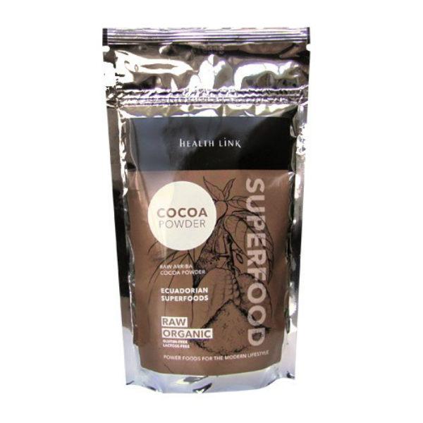 Какао на прах, сурово Ариба от Еквадор, Health Lynk, 250 гр. - Health Link