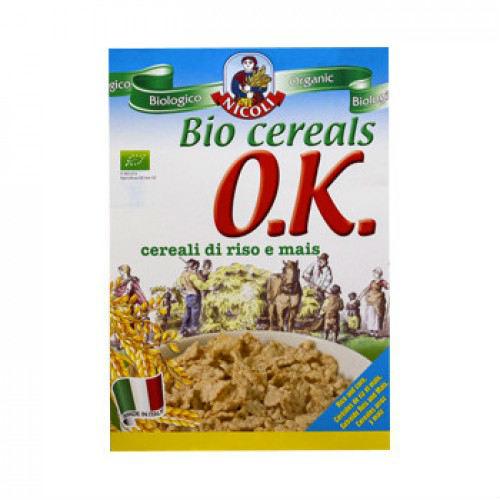 Зърнена закуска с ориз Био Nicoli, 375 гр. - Molino Nicoli
