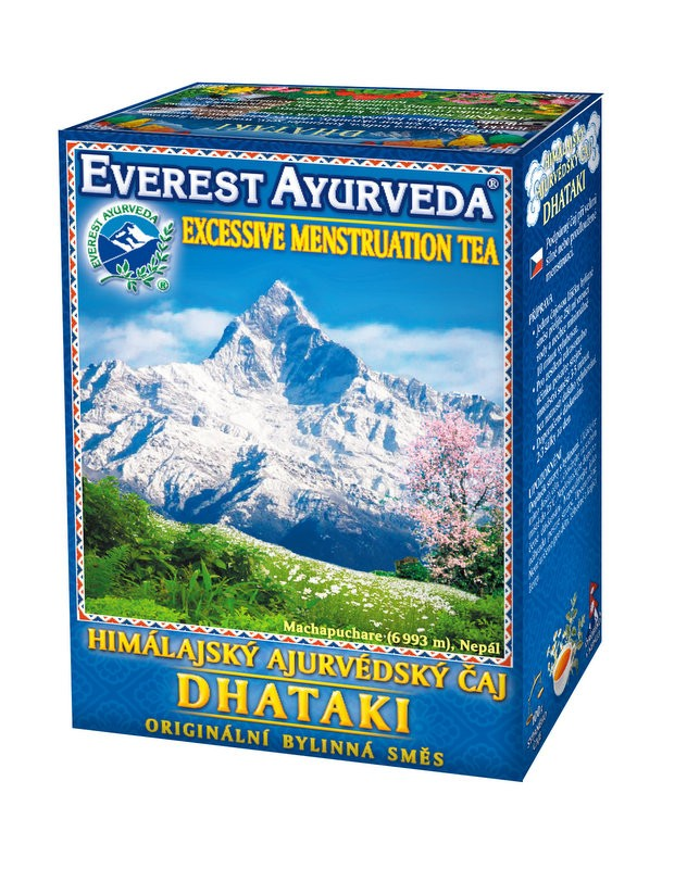 Dhataki чай – тежък месечен цикъл, Everest ayurveda, 100гр. - Everest ayurveda