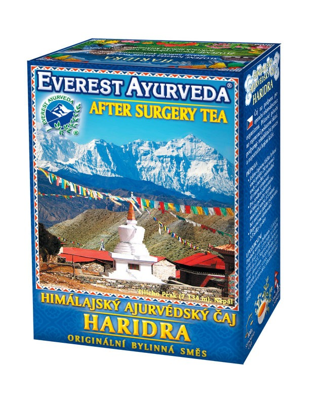 Haridra чай – възстановяване след операция, Everest ayurveda, 100гр. - Everest ayurveda