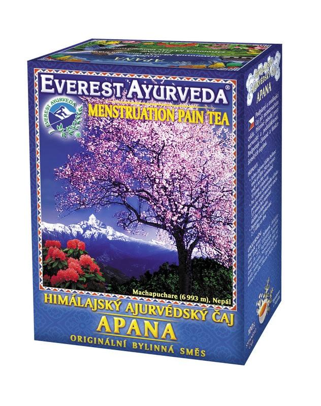 Apana чай – облекчение при месечен цикъл при жените, Everest ayurveda, 100гр. - Everest ayurveda