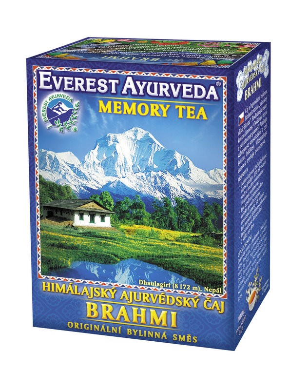 Brahmi чай – памет и умствена дейност, Everest ayurveda, 100гр. - Everest ayurveda