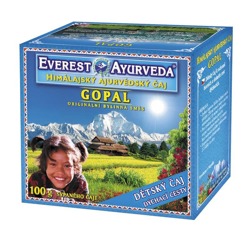 Gopal Детски чай при простуда и треска Everest ayurveda, 100гр. - Everest ayurveda
