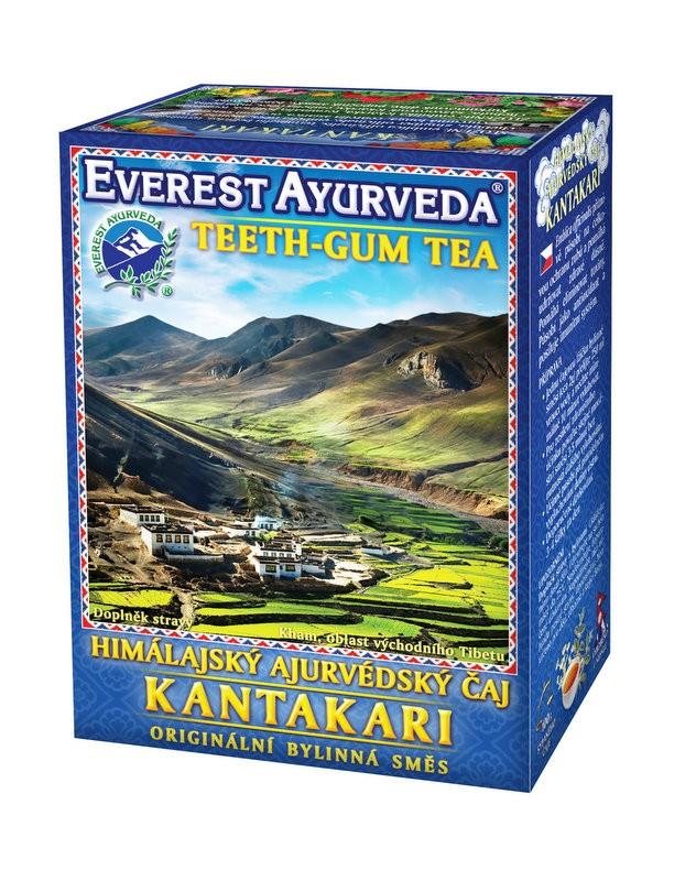 Kantakari чай – зъби и венци, Everest ayurveda, 100гр. - Everest ayurveda