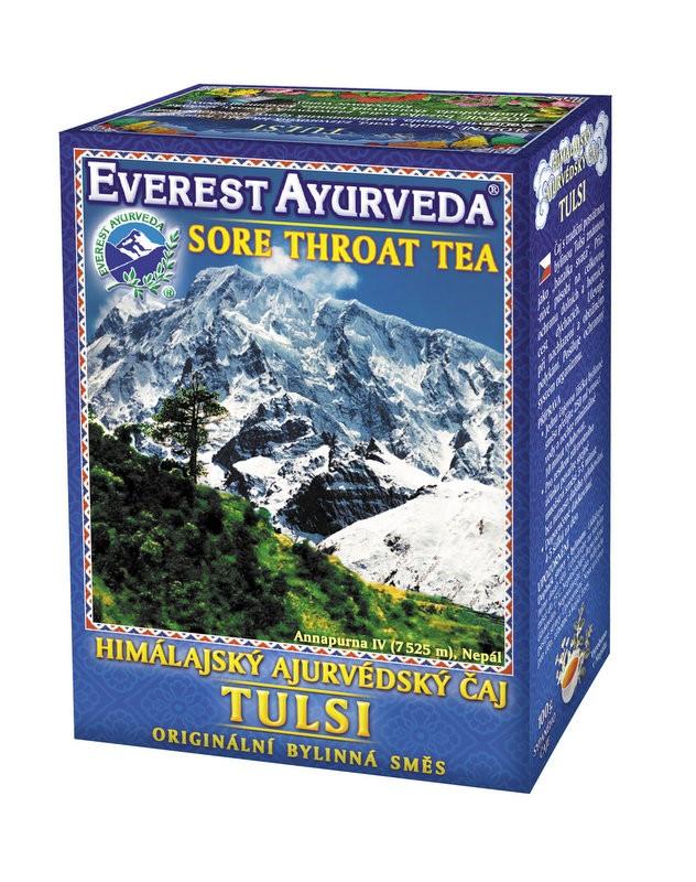 Tulsi чай – настинка и болки в гърлото, Everest ayurveda, 100гр. - Everest ayurveda
