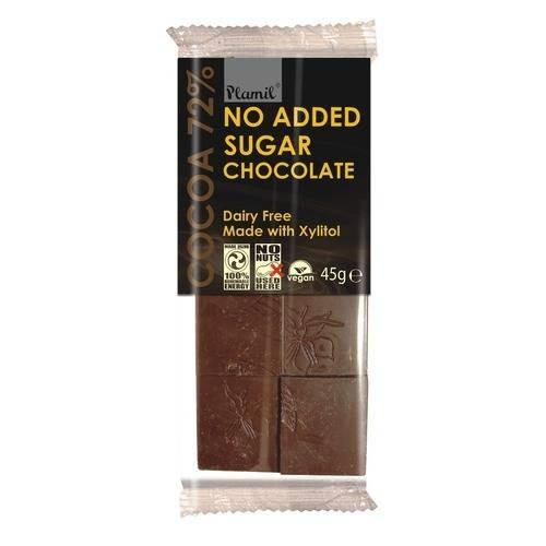 Шоколад без захар Plamil, 45 гр. - Plamil