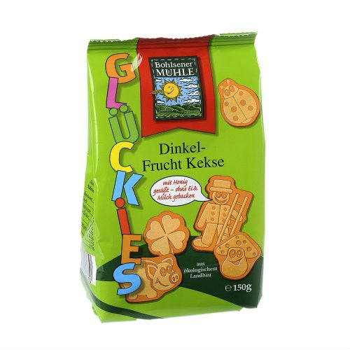 Детски био плодови бисквити Muhle, 150 гр. - Muhle