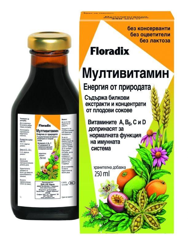Мултивитамин Floradix, 250 мл. - Floradix