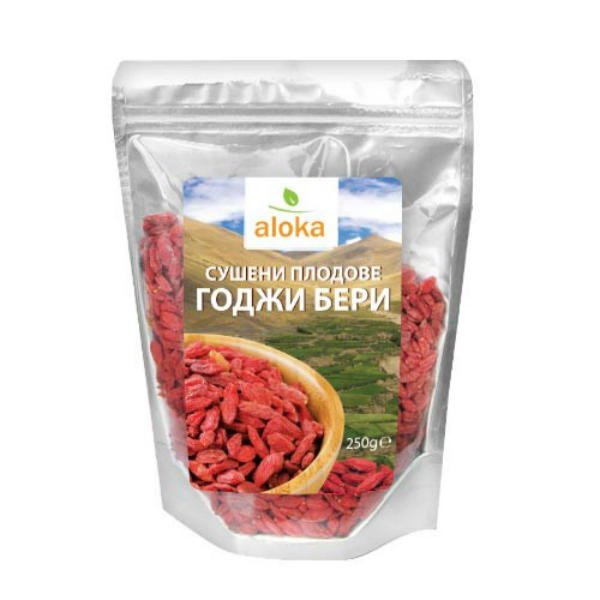 Годжи бери сушени Aloka, 250 гр. - Aloka