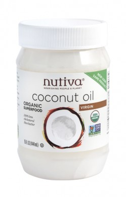 Кокосово масло Био Nutiva, 444 мл. - Nutiva