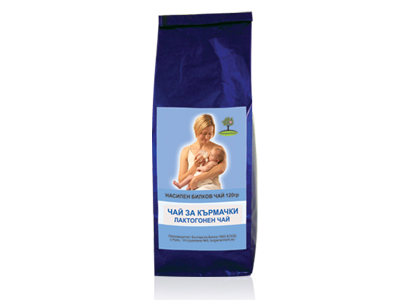 Лактогонен чай Bioherba, 120 гр. - Bioherba