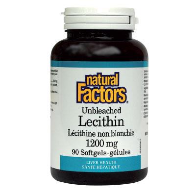 Лецитин 1200 мг. Natural Factors,  180 бр. - Natural Factors