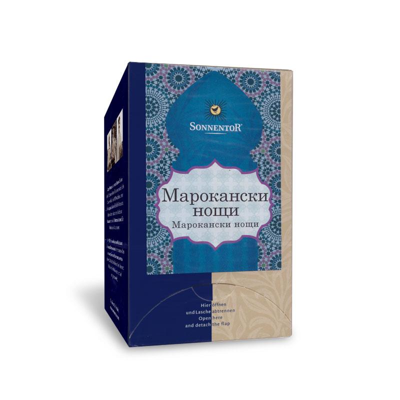 Чай Марокански нощи Био 21.6гр. Sonnentor, 18бр. - Sonnentor