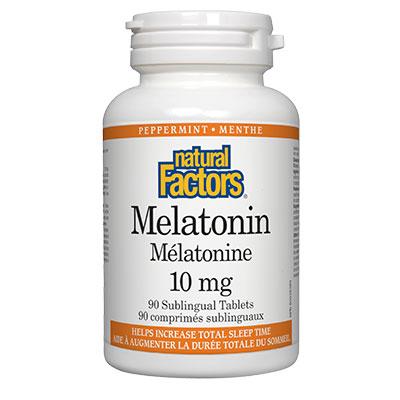 Мелатонин 10 мг. Natural Factors,  90 бр. - Natural Factors