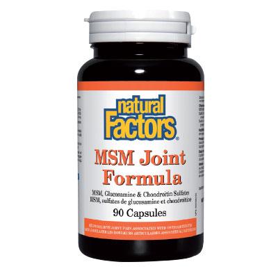МСМ формула за стави 840мг. Natural Factors,  90 бр. - Natural Factors