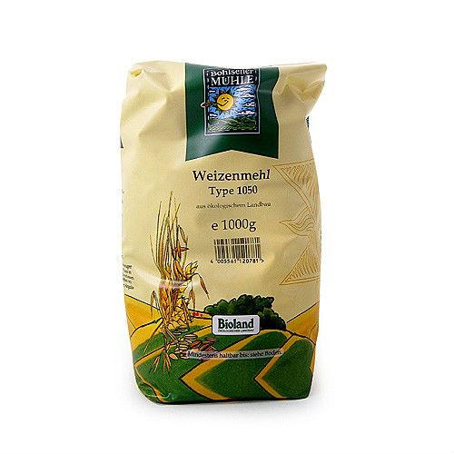 Пшеничено брашно тип 1050 Био Muhle, 1 кг. - Muhle
