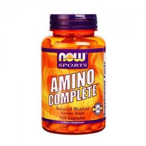 Amino Complete 850 мг, Now, 120 бр.