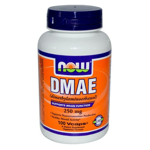 Диметиламиноетанол – DMAE 250мг. Now, 100бр. - Now