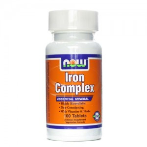 Iron Complex (Желязо), Now, 100 бр.
