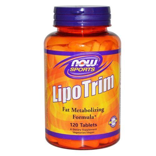 Липотропен Фетбърнер Lipo Trim Now, 120 бр. - Now