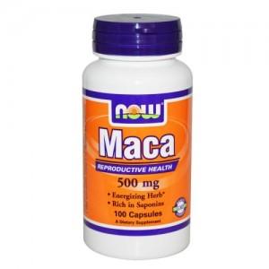 Maca (Мака) 500 мг, Now, 100 бр.