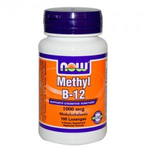 Methyl B-12 1000 мкг, Now, 100 бр.