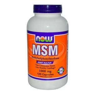 MSM 1000 мг, Now, 120 бр.
