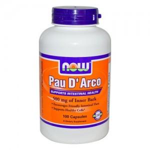 Pau D`Arco 500 мг, Now, 100 бр.