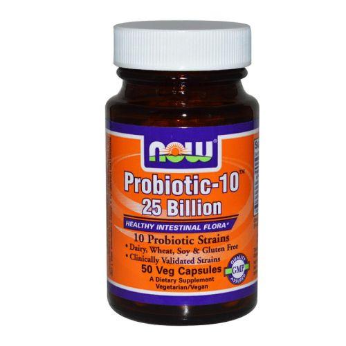 Пробиотик-10-25 милиарда, Now, 50бр. - Now