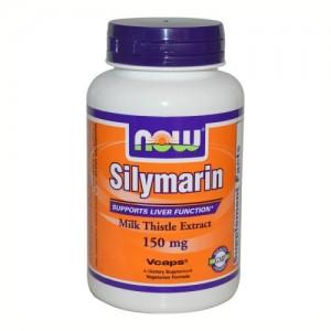 Silymarin (Магарешки Бодил) 150 мг, Now, 60 бр.