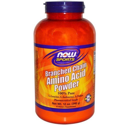 Верижно разклонени аминокиселини Now, 340гр. - Now