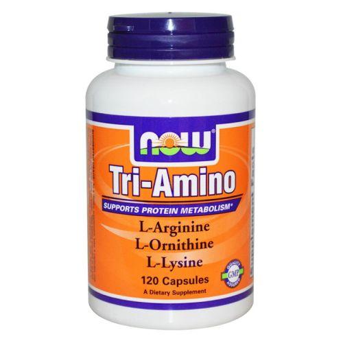 Три-Амино Now, 120 бр. - Now