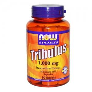 Tribulus 1000 мг, Now, 90 бр.