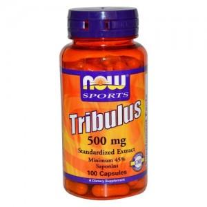 Tribulus 500 мг, Now, 100 бр.