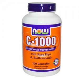 Vitamin C-1000, Now, 100 бр.