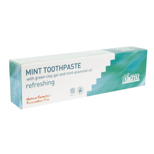 Органична паста за зъби мента Argital, 75мл. - Argital