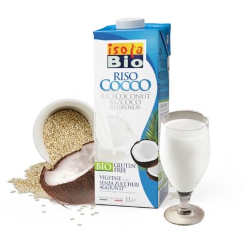 Oризово-кокосова напитка Био Isola Bio, 1 л. - Isola Bio