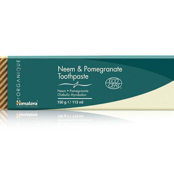 Паста за зъби с Нийм и Нар Био Himalaya, 150 гр. - Himalaya