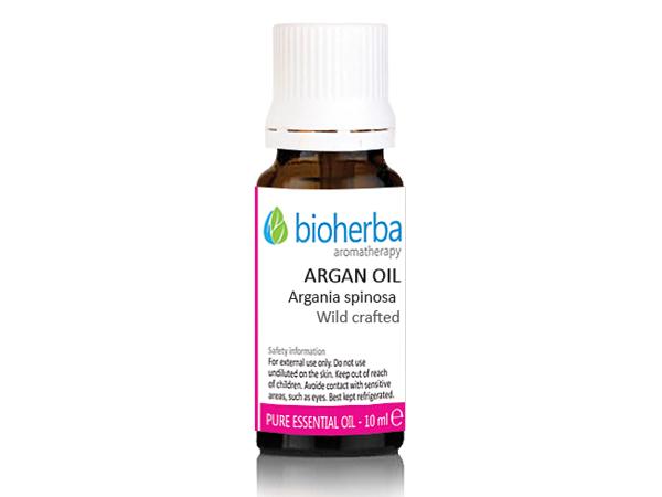 Арган етерично масло Bioherba, 10 мл. - Bioherba
