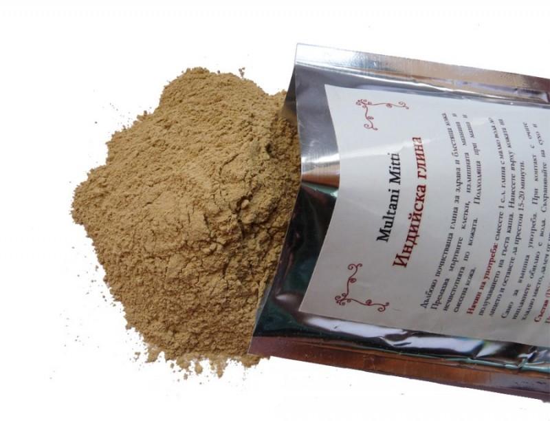 Индийска глина HennaFox, 100гр. - HennaFox
