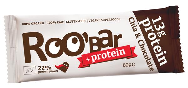 Суров протеинов десерт чиа и шоколад Био Roobar, 60гр. - Roobar