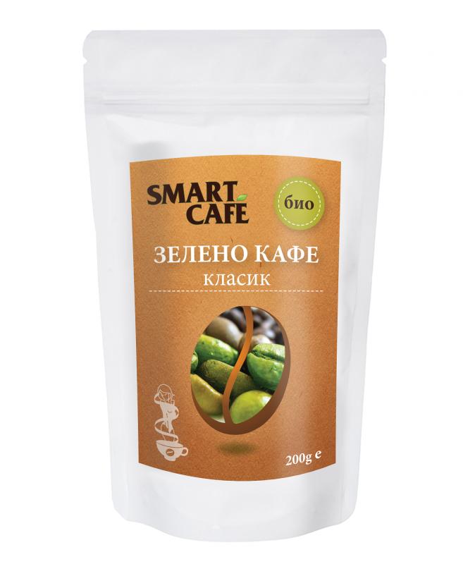 Зелено кафе класик Био Smart Coffee, 200гр. - Smart Coffee