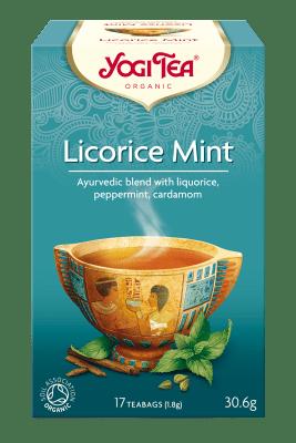 Лакриц и мента чай Био Yogi Tea, 17бр. - Yogi Tea
