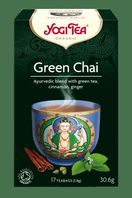 Зелен чай Био Yogi Tea, 17бр. - Yogi Tea