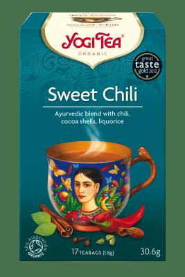 Сладко чили чай Био Yogi Tea, 17бр. - Yogi Tea